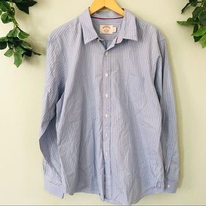 Brooks Brothers Blue XL Long Sleeve Button Up